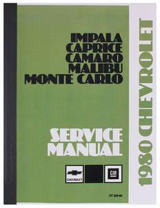 1980 Malibu Chassis Service Manual