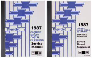 1987-1987 Monte Carlo Chassis Service Manual