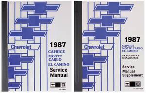 1987 Monte Carlo Chassis Service Manual