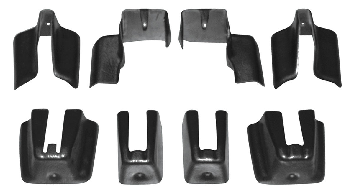 Photo of Seat Track Covers bucket seat, lower track, 8-piece
