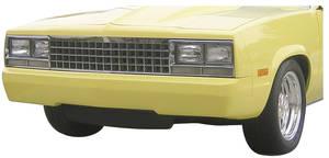 1978-1983 Malibu Bumper, Front (Tucked) Plain