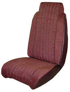 1981-1981 Malibu Seat Upholstery, 1981 El Camino & Malibu Front, by PUI