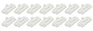 1978-88 Malibu Window Reveal Molding Clips Front (14-Piece), by RESTOPARTS