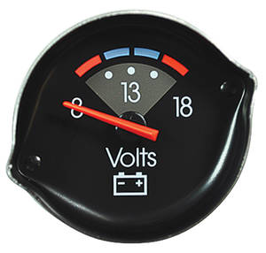 1986-1988 El Camino Gauge (Reproduction) Voltmeter (OE# 6474958)