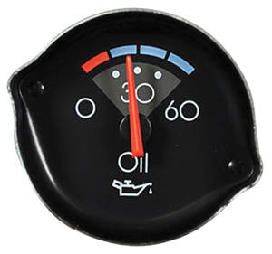 1986-88 El Camino Gauge (Reproduction) Oil Gauge (OE# 25026375)