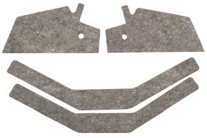 1981-88 Panel Insulation, Rear Upper, Monte Carlo