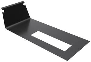 1985-1985 Monte Carlo Console Trim Plate Insert, Automatic (Replacement) Brushed Black