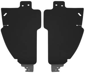1978-83 Fenderwell Shield Set, Inner El Camino/Malibu