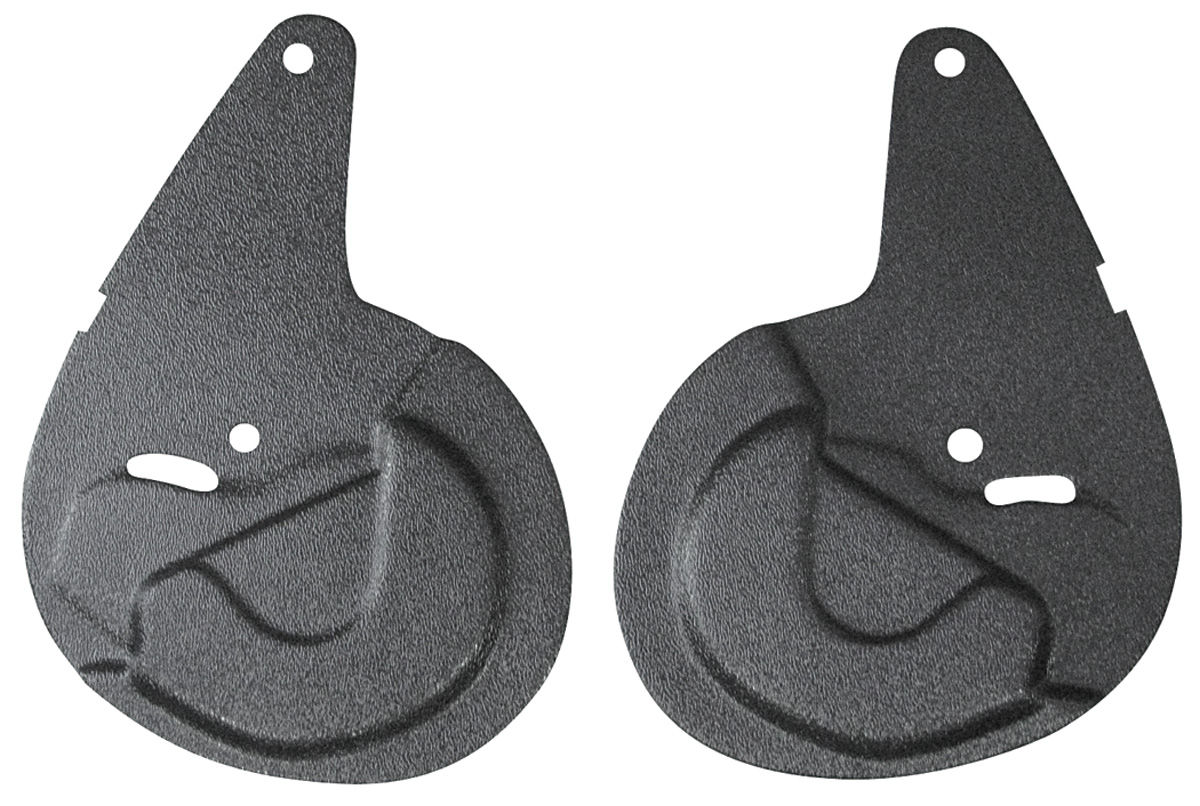 Photo of Seat Hinge Covers & Protectors (Bucket) hinge protectors, 2-piece