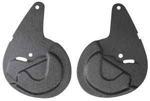1982-1988 Monte Carlo Seat Hinge Covers & Protectors (Bucket) Hinge Protectors, 2-Piece