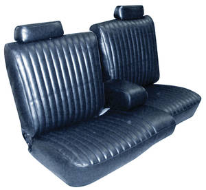 1981-87 Seat Upholstery, Bench El Camino & Malibu Vinyl, Front