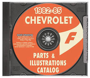 General Motors Parts and Accessories Guide CD-ROM