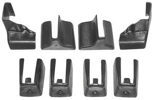 1978-88 Malibu Seat Track Covers 45/55 Bench Seat, 8-Piece