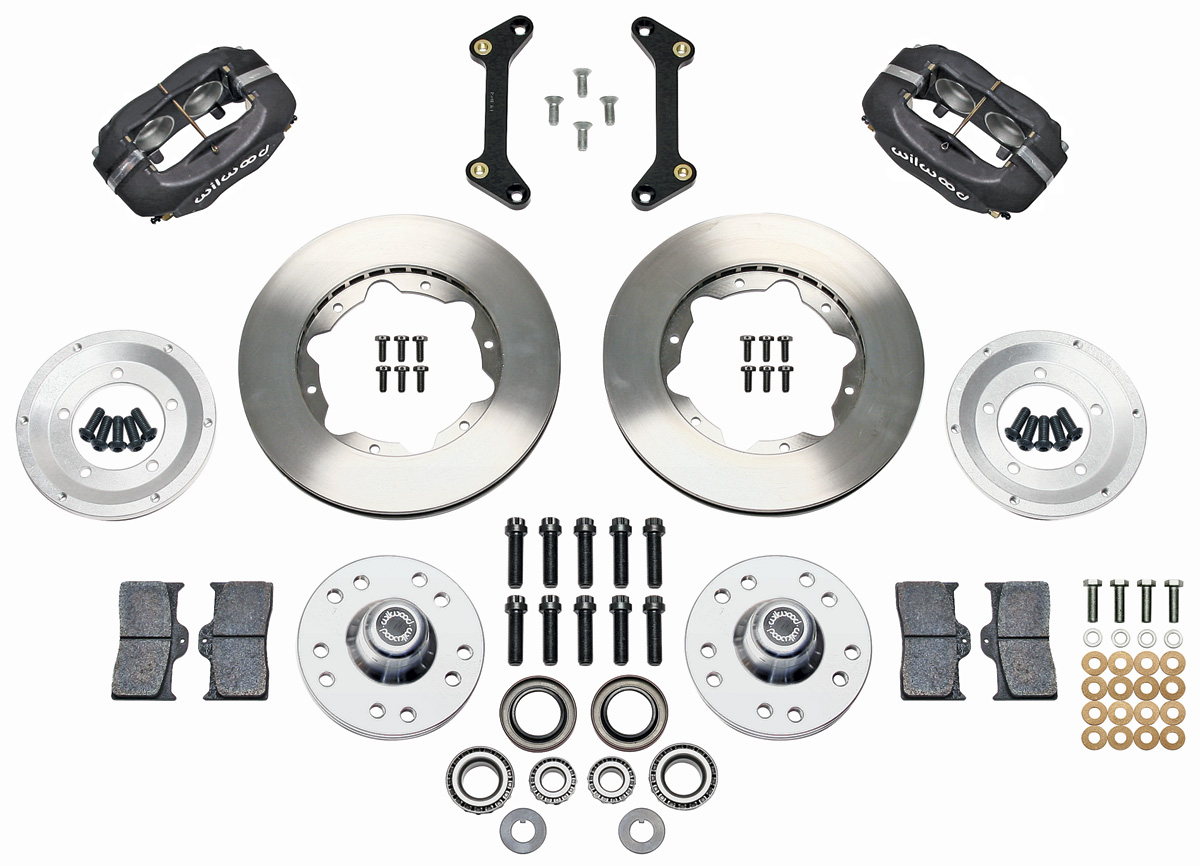 """Photo of Brake Kits, Forged Dynalite Pro Series 11"""" Front"""