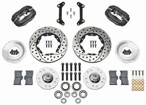 "1979-88 El Camino Brake Kits, Forged Dynalite Pro Series 11"" Front, by Wilwood"