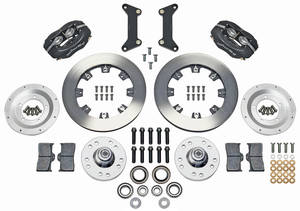 "1979-88 Malibu Brake Kit, Forged Dynalite 12"" Front (Big Brake)"