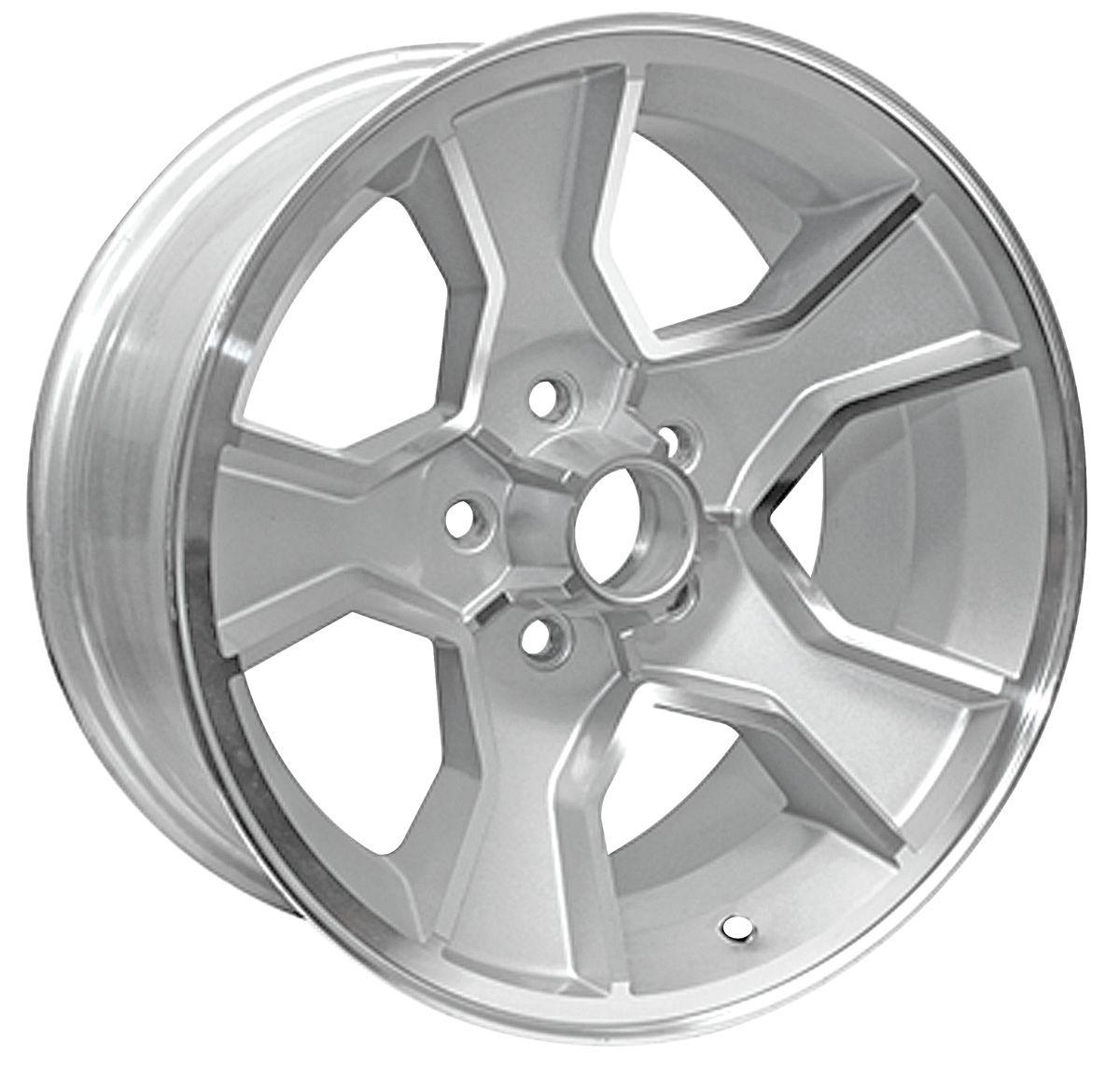 "1986-88 Wheel, N90 (Monte Carlo) Silver, 17"" X 8"" (B.S. 4"