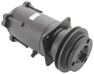 "1977-1977 Grand Prix Air Conditioning Compressor, 1977 Grand Prix A6 Style, 5-3/4"" Pulley w/Clutch"