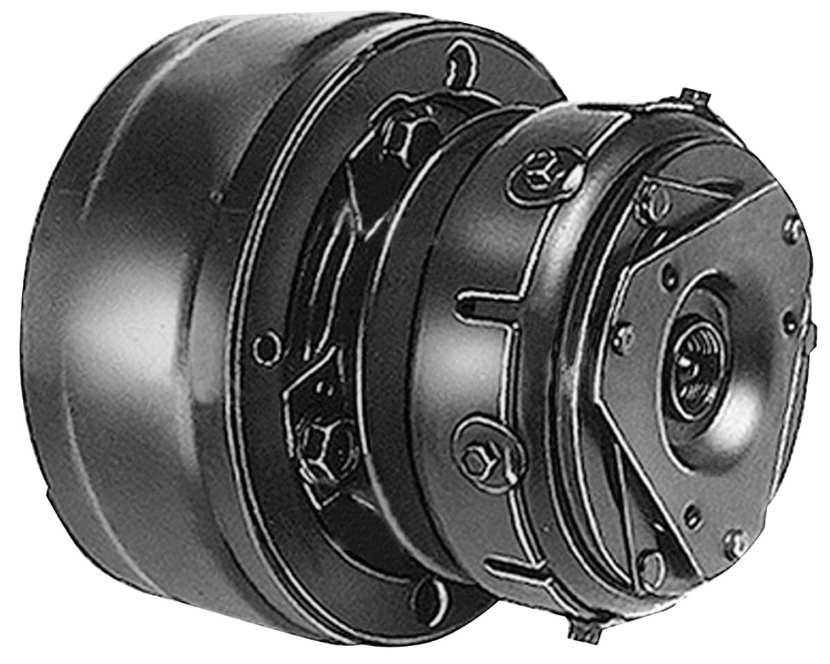 """Photo of Air Conditioning Compressor R4 Style, 9:00 Coil 5"""" pulley, 9 o'clock coil, switch type"""