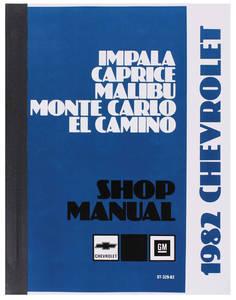 1982-1982 Malibu Chassis Service Manual