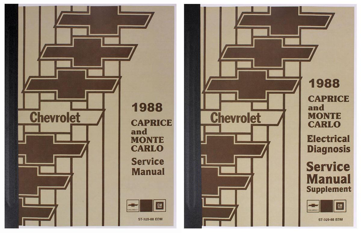 Photo of Chassis Service Manual 2 books: mechanical & electrical
