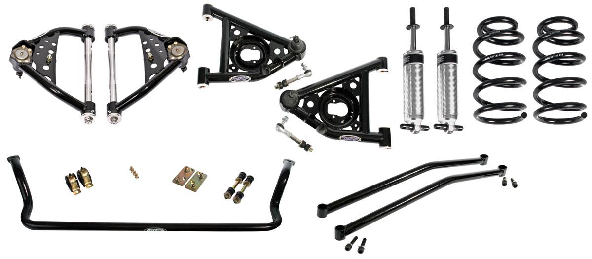 Detroit Speed Monte Carlo Suspension Speed 2 Kit, Front