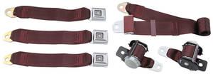 1978-88 Seat Belts, Original Style Retractable Malibu and Monte Carlo Rear