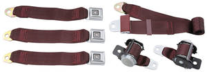 1978-88 Seat Belts, Original Style Retractable Malibu and Monte Carlo Rear