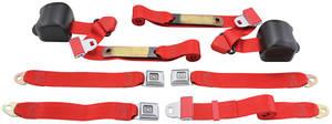1978-88 Seat Belts, Original Style Retractable Malibu and Monte Carlo Bench