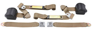 1978-88 Seat Belts, Original Style Retractable Malibu and Monte Carlo Bucket
