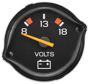 1979-85 El Camino Gauge (Reproduction) Voltmeter (OE# 6474580)