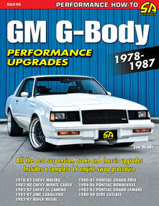 1978-1988 Monte Carlo GM G-Body Performance Upgrades