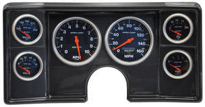 1982-1988 El Camino Dash Conversion Sport Comp Electric, by Classic Dash