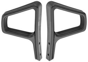 Seat Belt Loop Guide closed loop style, black only