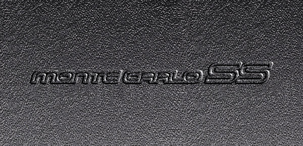"Photo of Hood Insulation & Shield Kit; AcoustiHood ""Monte Carlo SS"" logo"