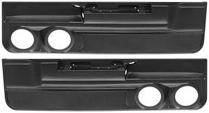"1978-83 El Camino Door Panels, Custom Lower Two 5-1/4"" Speakers, 2dr"