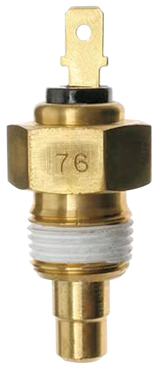 Photo of Temperature Sending Unit, V8 w/gauges