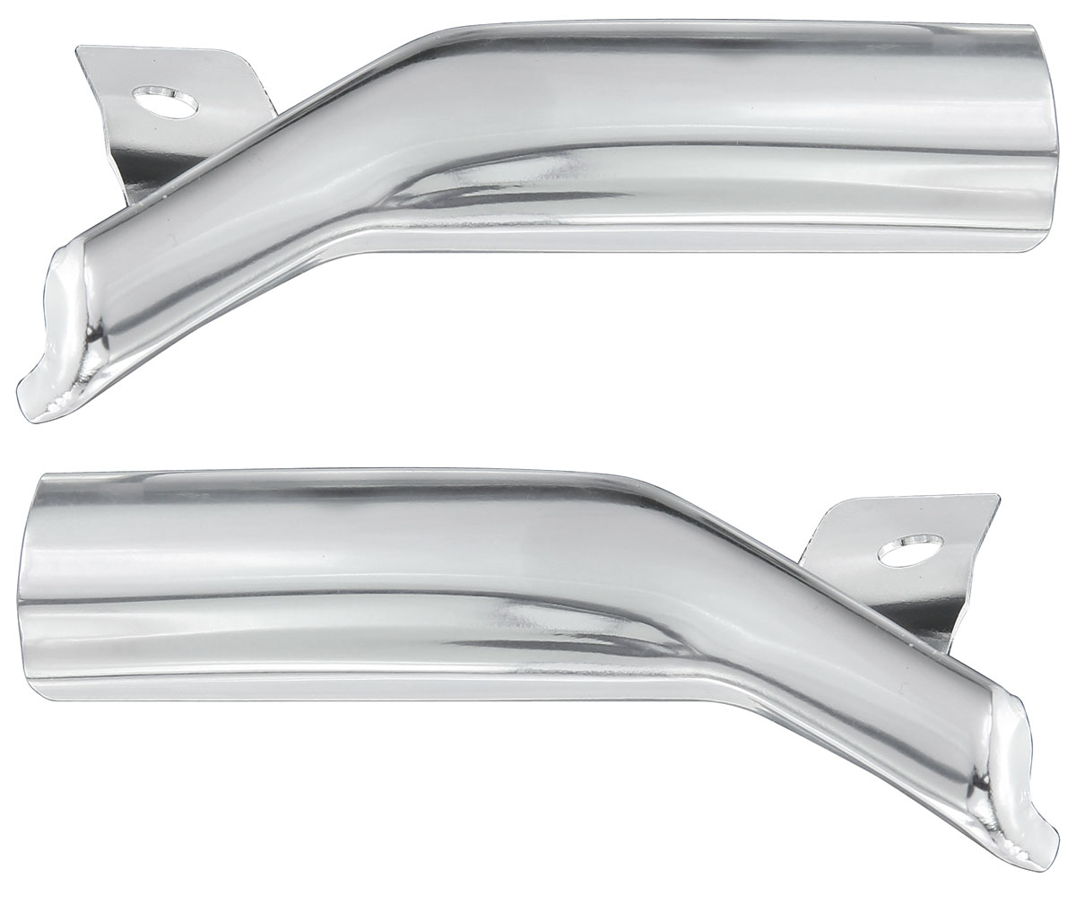 Photo of T-Top Moldings (Monte Carlo) Polished - Rear Opening Moldings