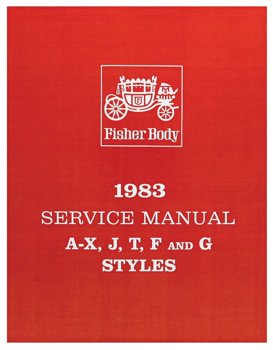 Photo of Fisher Body Manuals part A