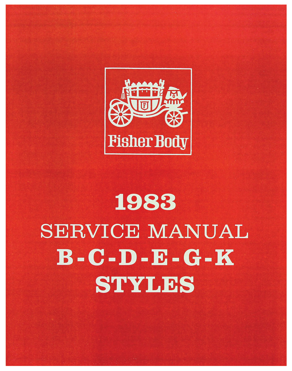 Photo of Fisher Body Manuals part B