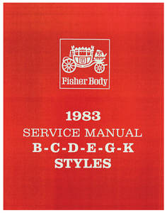 Fisher Body Manuals Part B