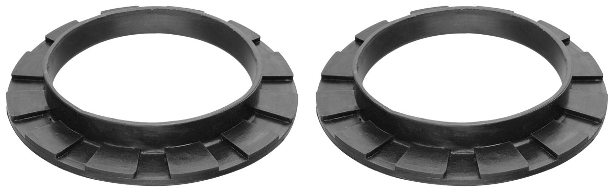 Photo of Upper Coil Spring Insulator Pads front, rubber