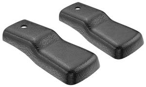 1978-88 El Camino Seat Track Covers Bucket Seat, Upper Track, 2-Piece
