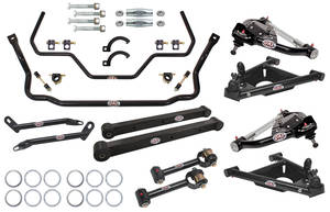 1978-88 El Camino Handling Suspension Kits, G-Body, QA1 Without Shocks Level 2