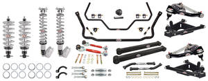1978-1988 El Camino Handling Suspension Kits, G-Body, QA1 With Shocks Level 3