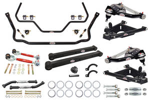 1978-88 El Camino Handling Suspension Kits, G-Body, QA1 Without Shocks Level 3