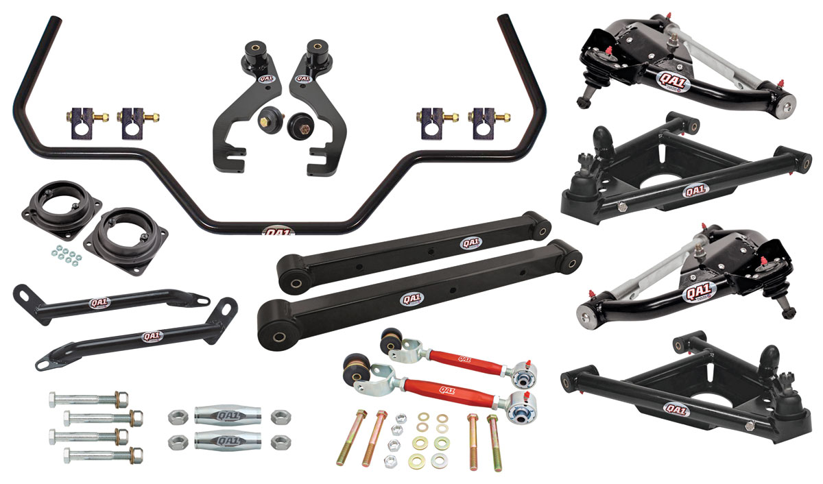 Malibu Drag Race Suspension Kits, G-Body, QA1 Without