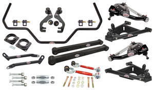 1978-88 El Camino Drag Race Suspension Kits, G-Body, QA1 Without Shocks Level 1