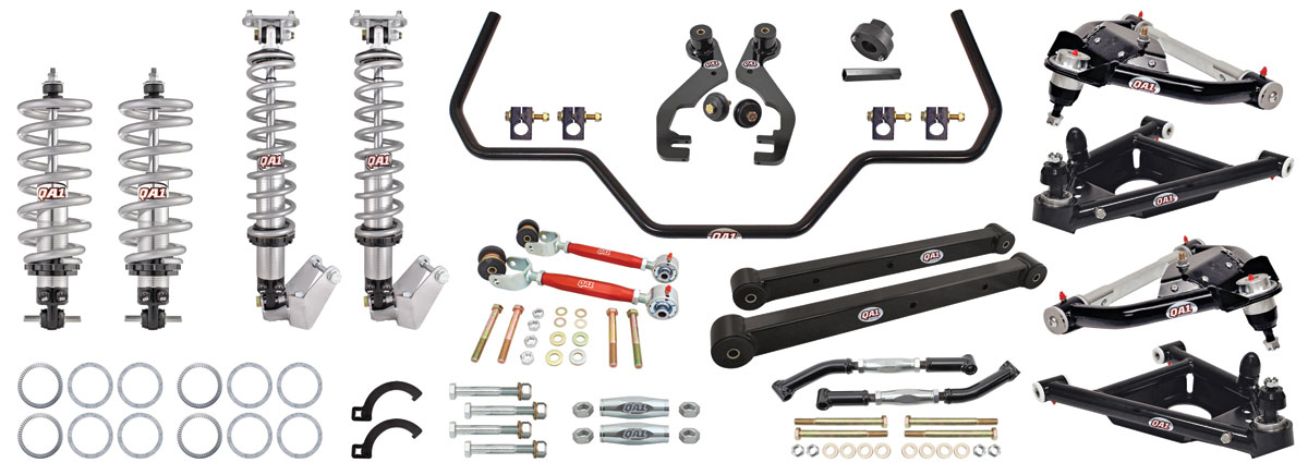 El Camino Drag Race Suspension Kits, G-Body, QA1 With