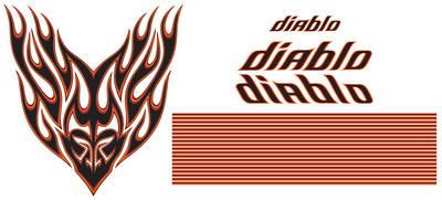 """El Camino Body Decal Kit, 1978-83 GMC """"Diablo"""""""